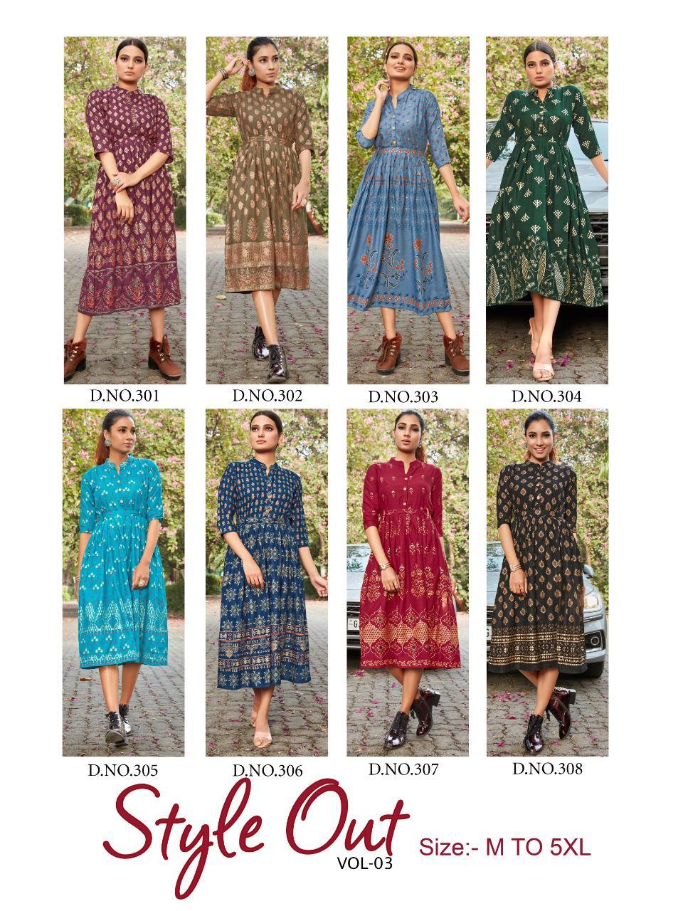Blue Hills Style Out Vol 3 Kurti Wholesale Catalog 8 Pcs 12 - Blue Hills Style Out Vol 3 Kurti Wholesale Catalog 8 Pcs