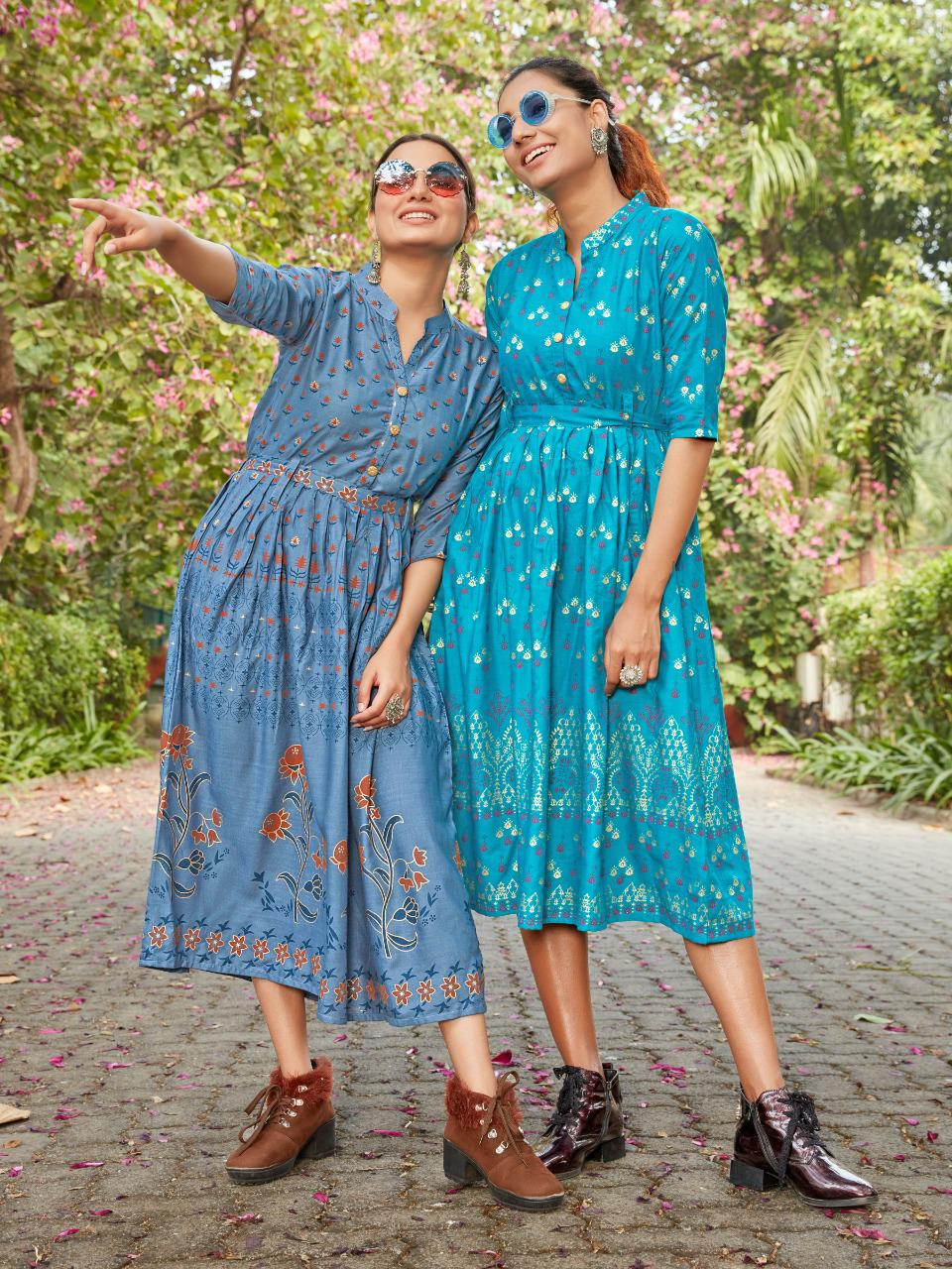 Blue Hills Style Out Vol 3 Kurti Wholesale Catalog 8 Pcs 8 - Blue Hills Style Out Vol 3 Kurti Wholesale Catalog 8 Pcs