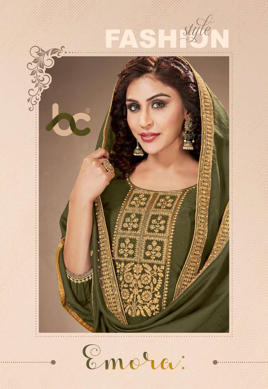 Brij Emora Salwar Suit Wholesale Catalog 8 Pcs 1 - Brij Emora Salwar Suit Wholesale Catalog 8 Pcs
