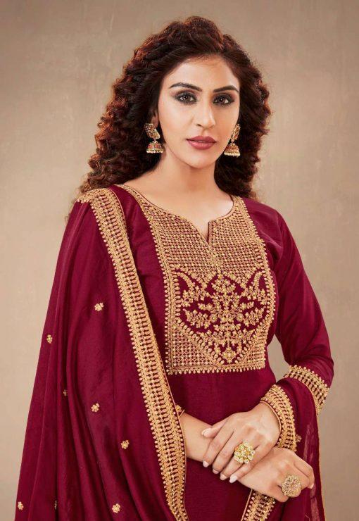 Brij Emora Salwar Suit Wholesale Catalog 8 Pcs 11 510x740 - Brij Emora Salwar Suit Wholesale Catalog 8 Pcs