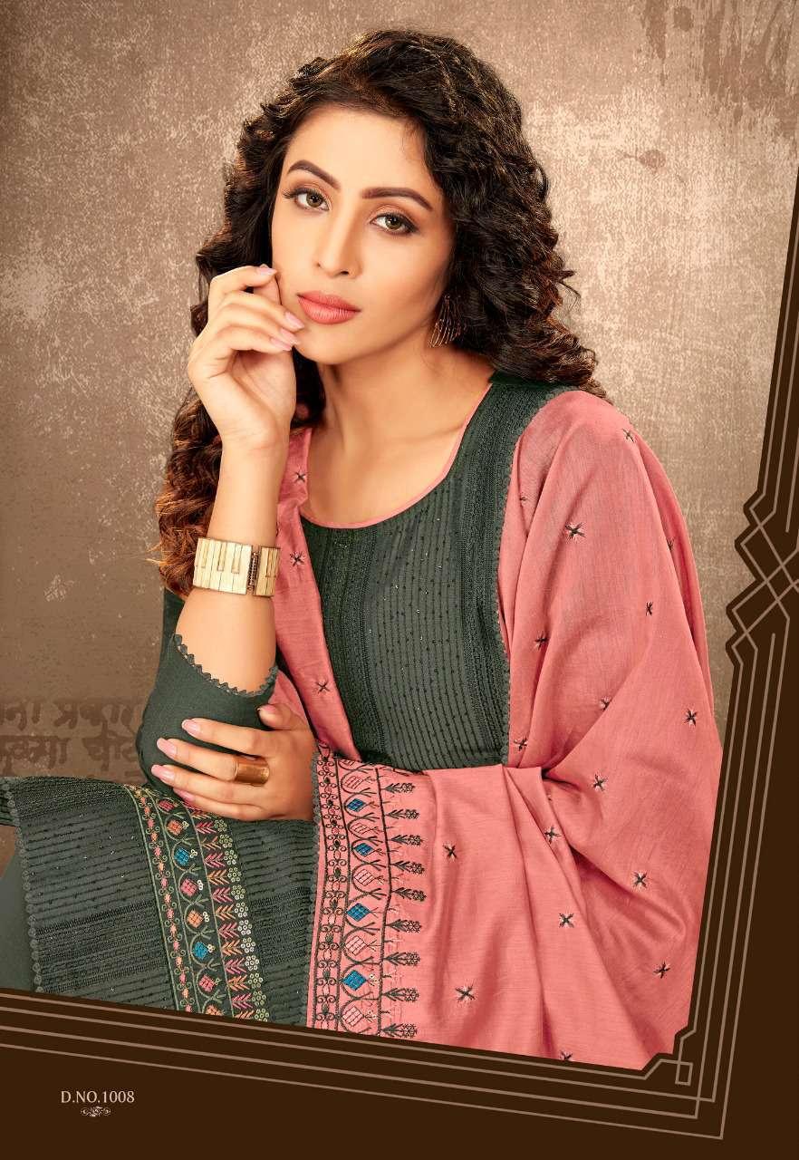 Brij Paakhi Vol 2 Salwar Suit Wholesale Catalog 8 Pcs 5 - Brij Paakhi Vol 2 Salwar Suit Wholesale Catalog 8 Pcs