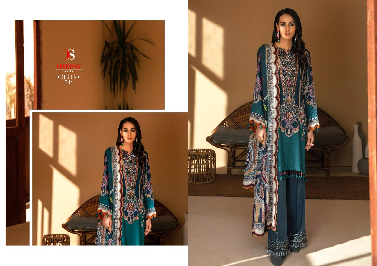 Deepsy Elan Vol 12 Salwar Suit Wholesale Catalog 6 Pcs 2 - Deepsy Elan Vol 12 Salwar Suit Wholesale Catalog 6 Pcs