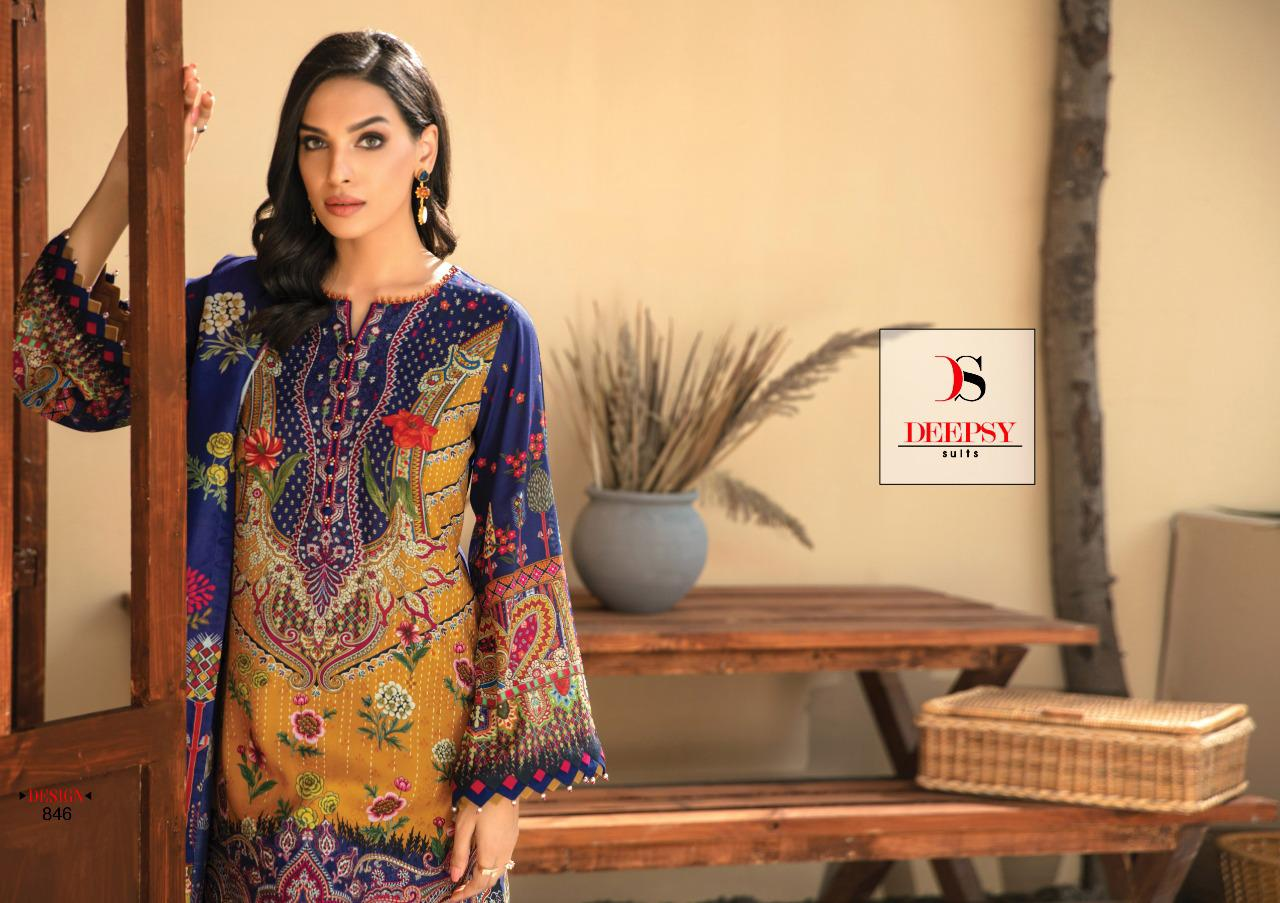 Deepsy Elan Vol 12 Salwar Suit Wholesale Catalog 6 Pcs 4 - Deepsy Elan Vol 12 Salwar Suit Wholesale Catalog 6 Pcs