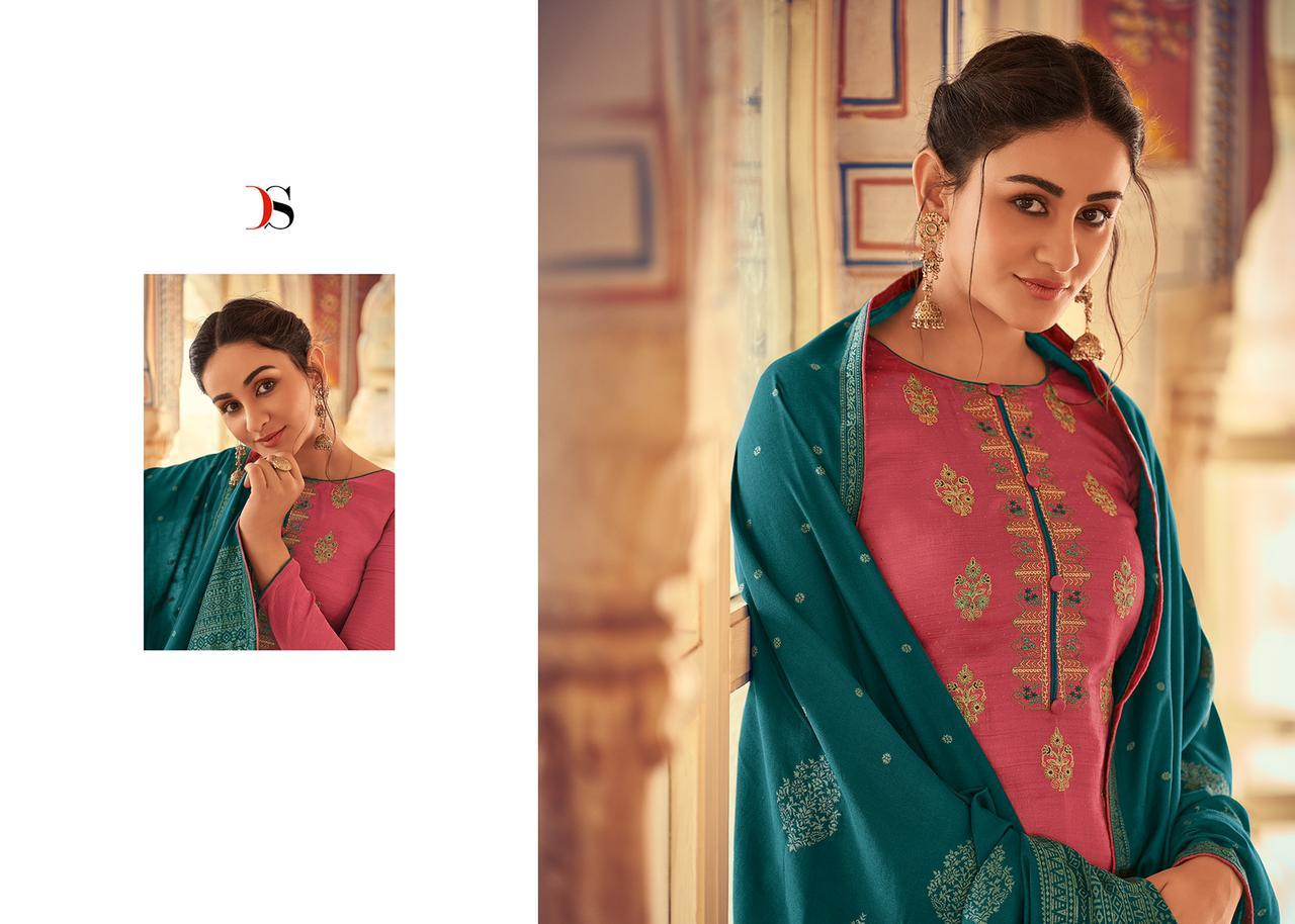 Deepsy Monalisa Vol 4 Salwar Suit Wholesale Catalog 6 Pcs 1 - Deepsy Monalisa Vol 4 Salwar Suit Wholesale Catalog 6 Pcs