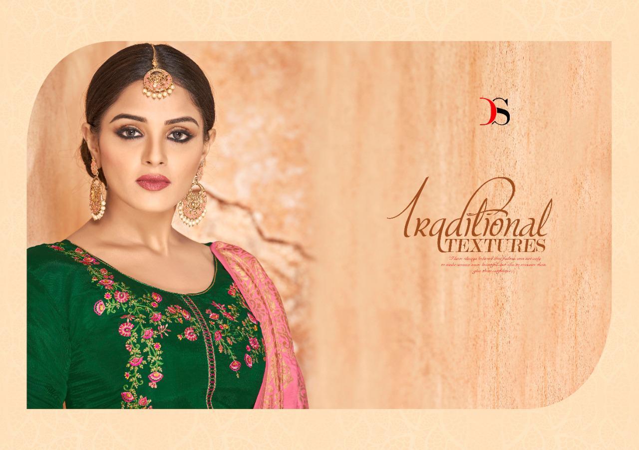 Deepsy Sabiha Banaras Vol 2 Salwar Suit Wholesale Catalog 6 Pcs 7 - Deepsy Sabiha Banaras Vol 2 Salwar Suit Wholesale Catalog 6 Pcs