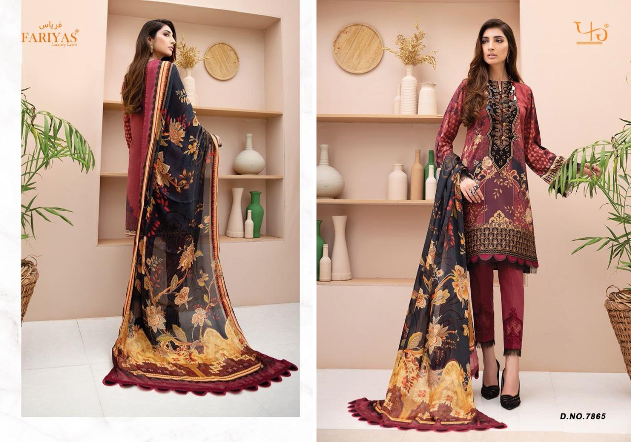 Fariyas Iris Vol 2 2020 Salwar Suit Wholesale Catalog 6 Pcs 6 - Fariyas Iris Vol 2 2020 Salwar Suit Wholesale Catalog 6 Pcs
