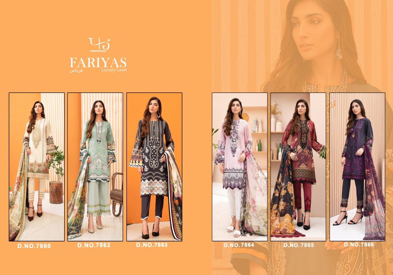 Fariyas Iris Vol 2 2020 Salwar Suit Wholesale Catalog 6 Pcs 7 - Fariyas Iris Vol 2 2020 Salwar Suit Wholesale Catalog 6 Pcs