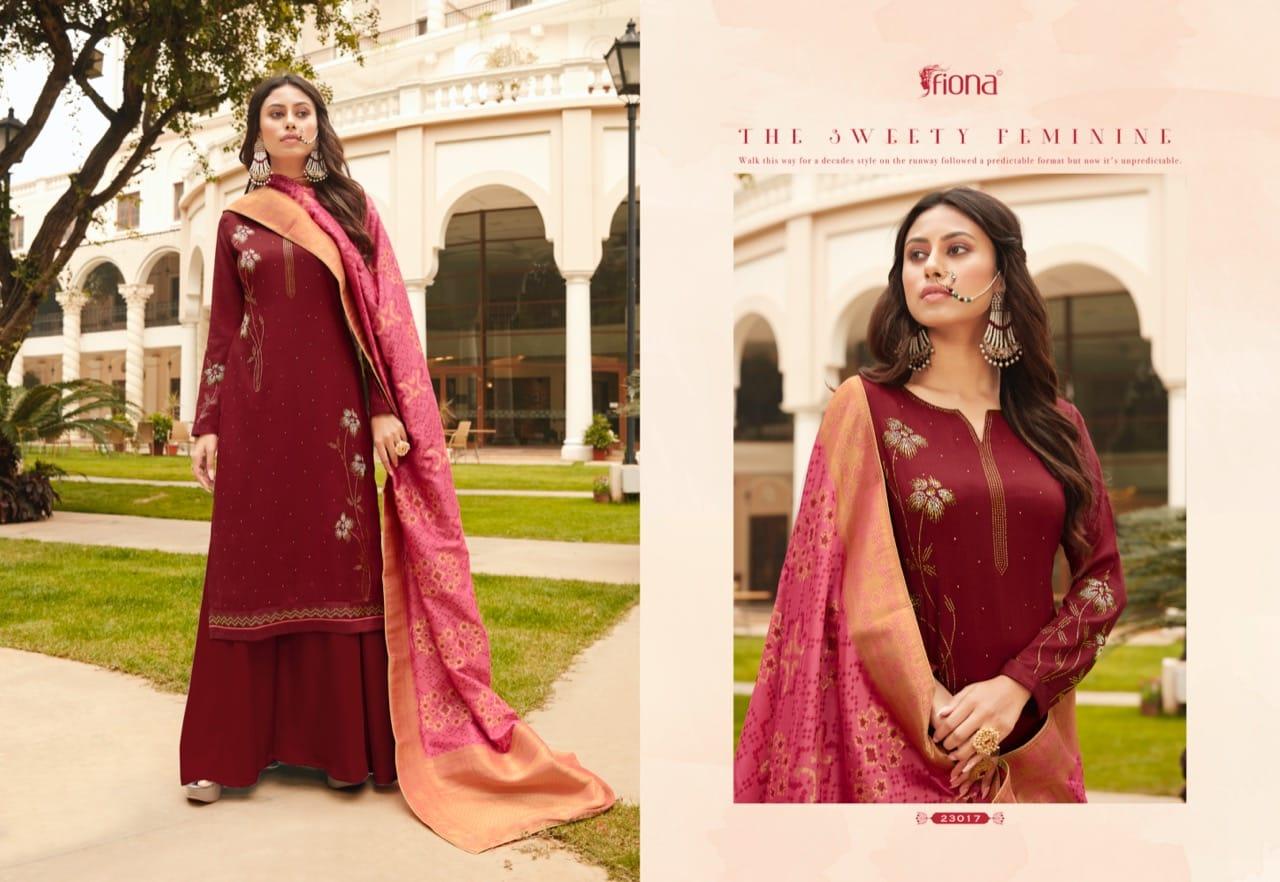 Fiona Bandhej Vol 2 Salwar Suit Wholesale Catalog 7 Pcs 2 - Fiona Bandhej Vol 2 Salwar Suit Wholesale Catalog 7 Pcs