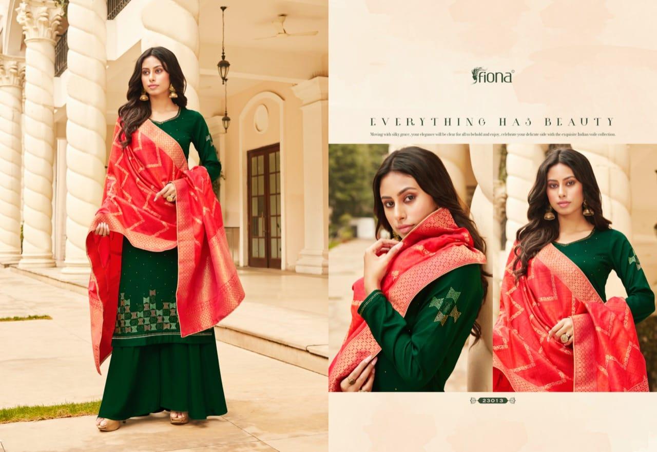 Fiona Bandhej Vol 2 Salwar Suit Wholesale Catalog 7 Pcs 4 - Fiona Bandhej Vol 2 Salwar Suit Wholesale Catalog 7 Pcs