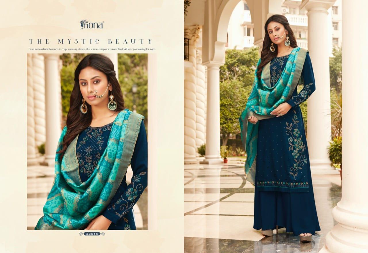 Fiona Bandhej Vol 2 Salwar Suit Wholesale Catalog 7 Pcs 7 - Fiona Bandhej Vol 2 Salwar Suit Wholesale Catalog 7 Pcs