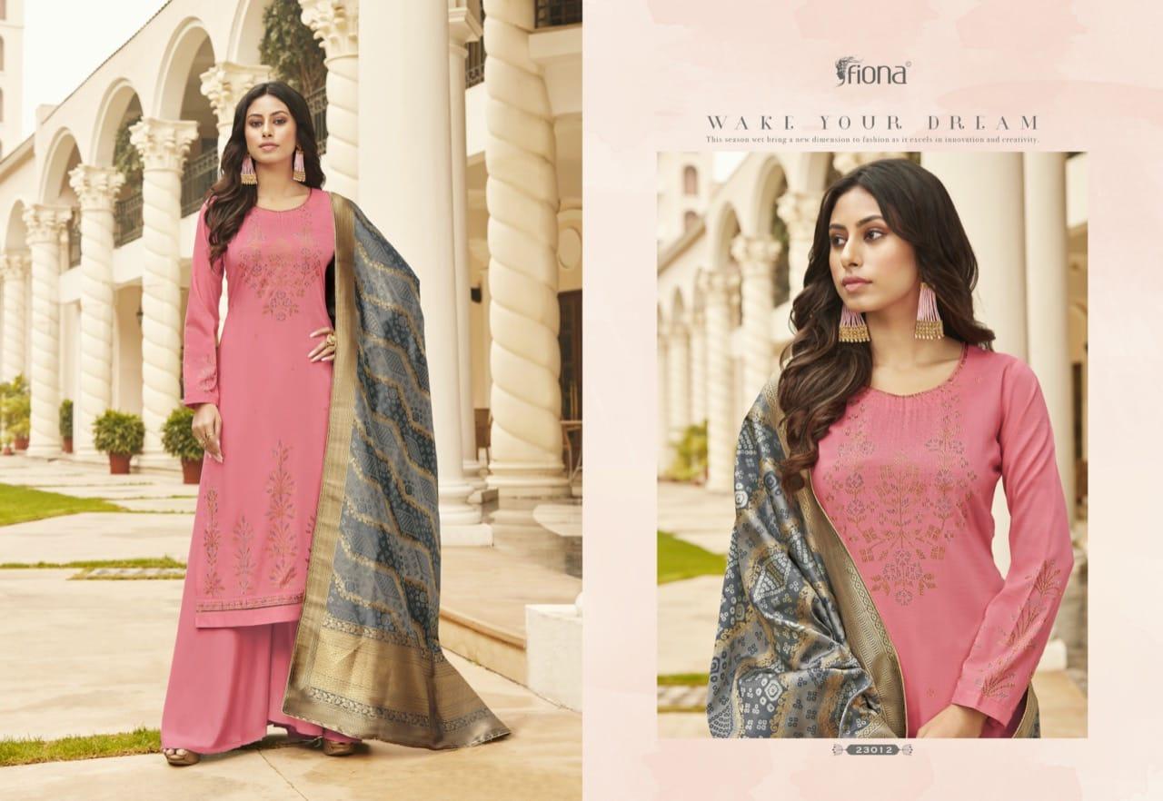 Fiona Bandhej Vol 2 Salwar Suit Wholesale Catalog 7 Pcs 8 - Fiona Bandhej Vol 2 Salwar Suit Wholesale Catalog 7 Pcs