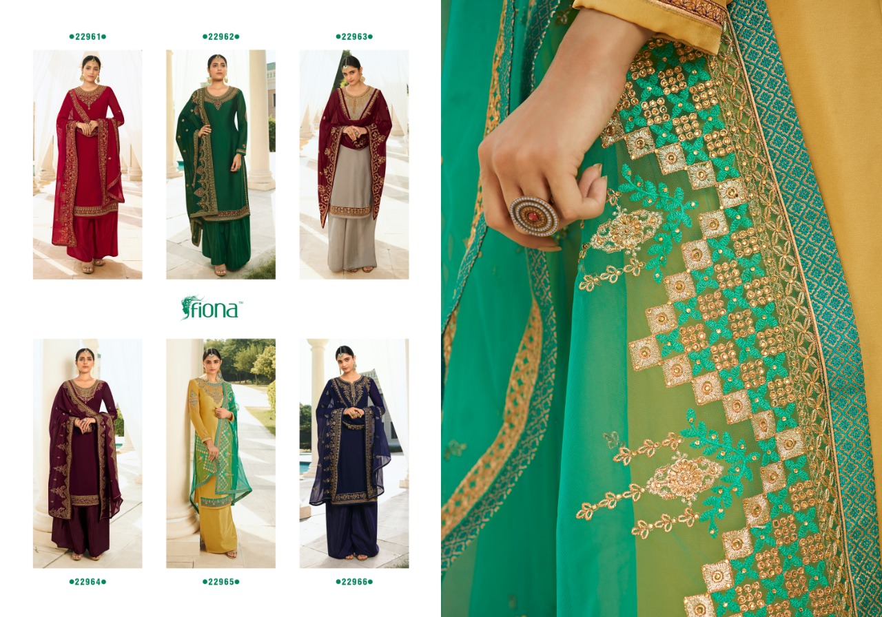 Fiona Gulsan Salwar Suit Wholesale Catalog 6 Pcs 9 - Fiona Gulsan Salwar Suit Wholesale Catalog 6 Pcs