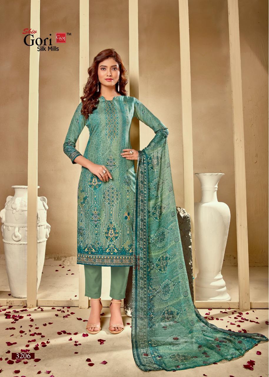 GSM Punjabi Kudi Vol 32 by Shiv Gori Silk Mills Salwar Suit Wholesale Catalog 12 Pcs 12 - GSM Punjabi Kudi Vol 32 by Shiv Gori Silk Mills Salwar Suit Wholesale Catalog 12 Pcs
