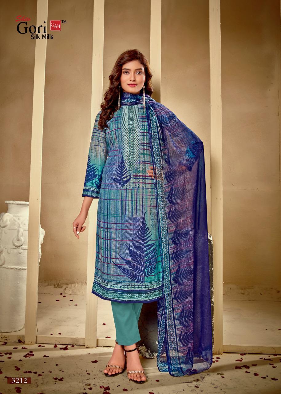 GSM Punjabi Kudi Vol 32 by Shiv Gori Silk Mills Salwar Suit Wholesale Catalog 12 Pcs 8 - GSM Punjabi Kudi Vol 32 by Shiv Gori Silk Mills Salwar Suit Wholesale Catalog 12 Pcs