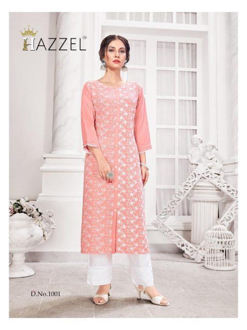 Hazzel Schiffli Lucknowi Kurti with Pant Wholesale Catalog 5 Pcs 2 510x680 - Hazzel Schiffli Lucknowi Kurti with Pant Wholesale Catalog 5 Pcs