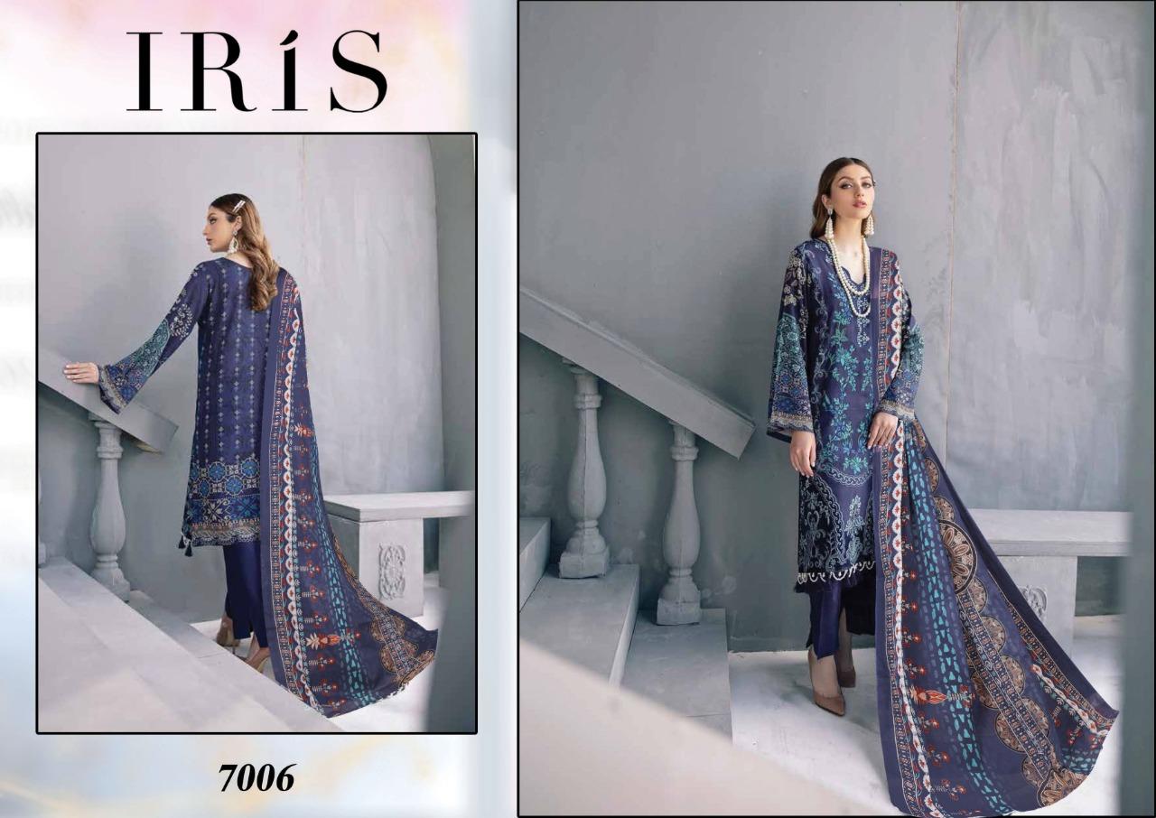 Iris Vol 7 Karachi Cotton Salwar Suit Wholesale Catalog 10 Pcs 1 - Iris Vol 7 Karachi Cotton Salwar Suit Wholesale Catalog 10 Pcs