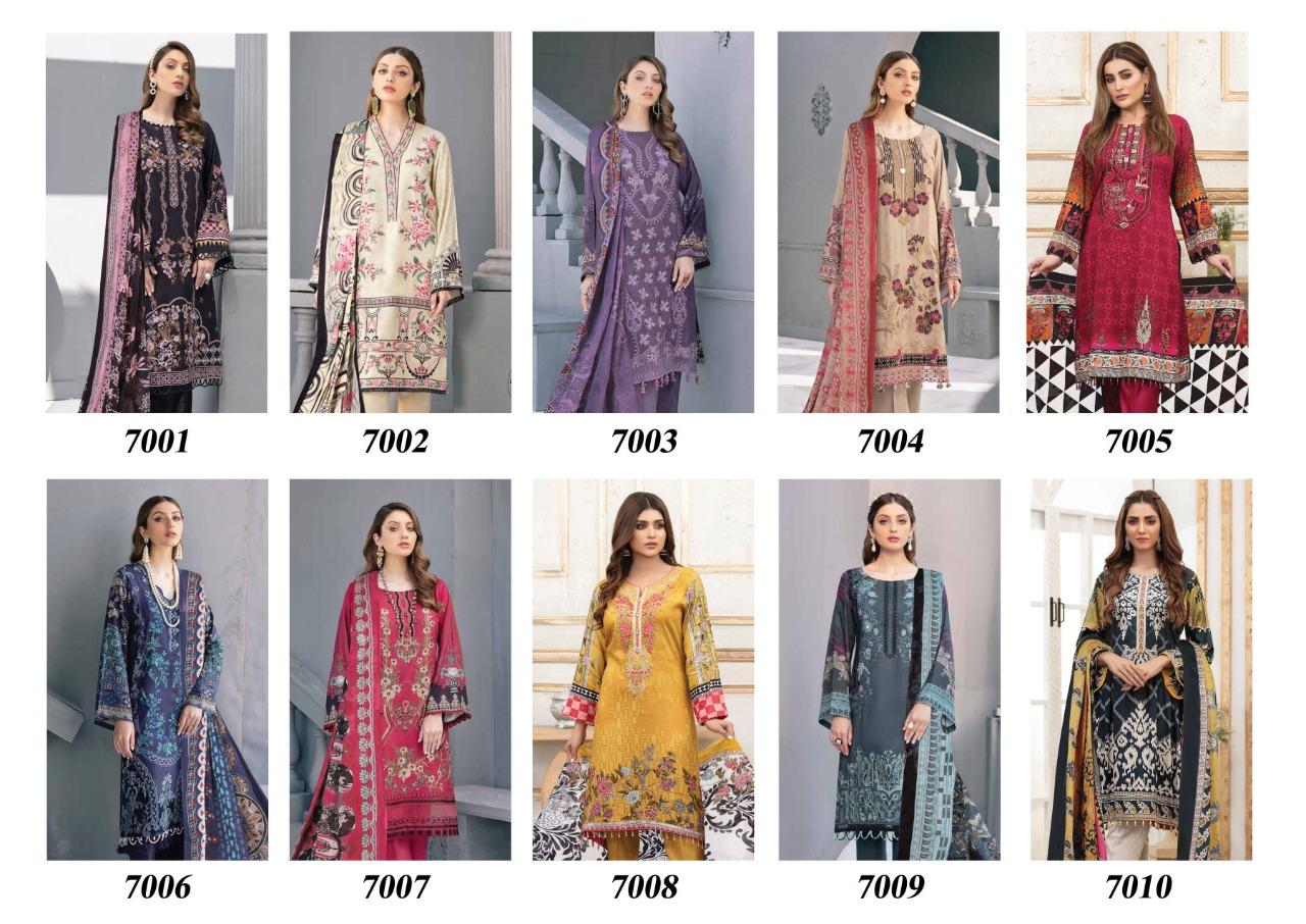 Iris Vol 7 Karachi Cotton Salwar Suit Wholesale Catalog 10 Pcs 15 - Iris Vol 7 Karachi Cotton Salwar Suit Wholesale Catalog 10 Pcs