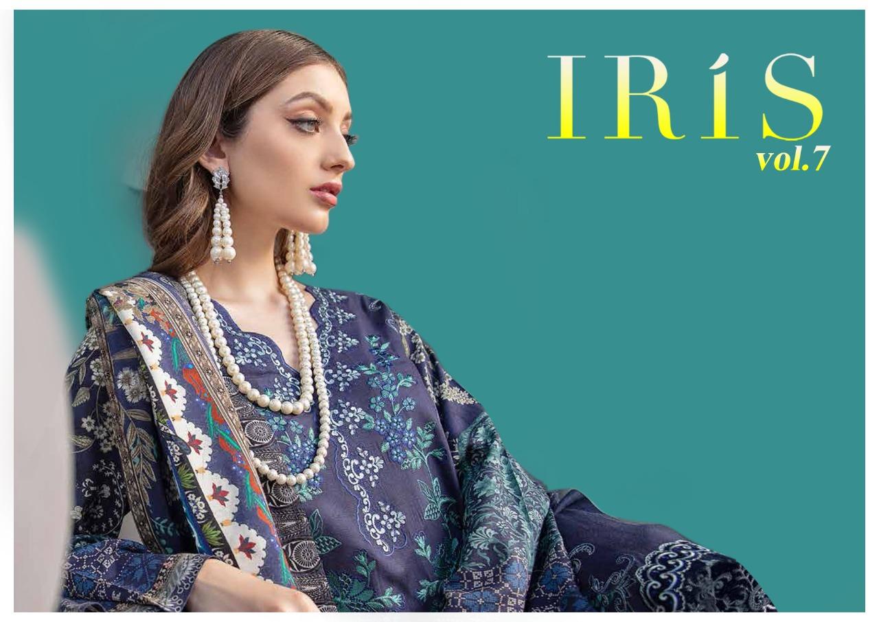 Iris Vol 7 Karachi Cotton Salwar Suit Wholesale Catalog 10 Pcs 3 - Iris Vol 7 Karachi Cotton Salwar Suit Wholesale Catalog 10 Pcs