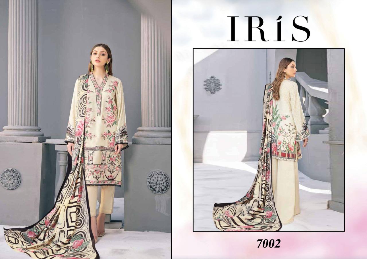 Iris Vol 7 Karachi Cotton Salwar Suit Wholesale Catalog 10 Pcs 4 - Iris Vol 7 Karachi Cotton Salwar Suit Wholesale Catalog 10 Pcs