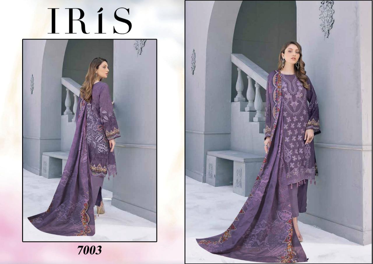 Iris Vol 7 Karachi Cotton Salwar Suit Wholesale Catalog 10 Pcs 5 - Iris Vol 7 Karachi Cotton Salwar Suit Wholesale Catalog 10 Pcs