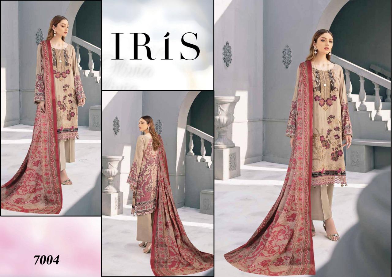 Iris Vol 7 Karachi Cotton Salwar Suit Wholesale Catalog 10 Pcs 6 - Iris Vol 7 Karachi Cotton Salwar Suit Wholesale Catalog 10 Pcs