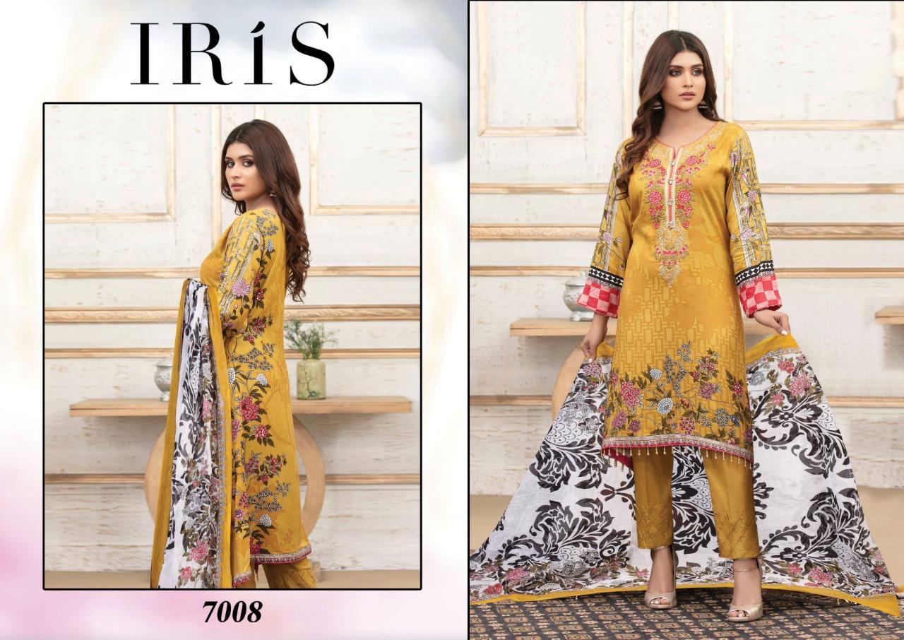 Iris Vol 7 Karachi Cotton Salwar Suit Wholesale Catalog 10 Pcs 7 - Iris Vol 7 Karachi Cotton Salwar Suit Wholesale Catalog 10 Pcs