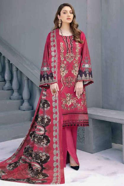 Iris Vol 7 Karachi Cotton Salwar Suit Wholesale Catalog 10 Pcs