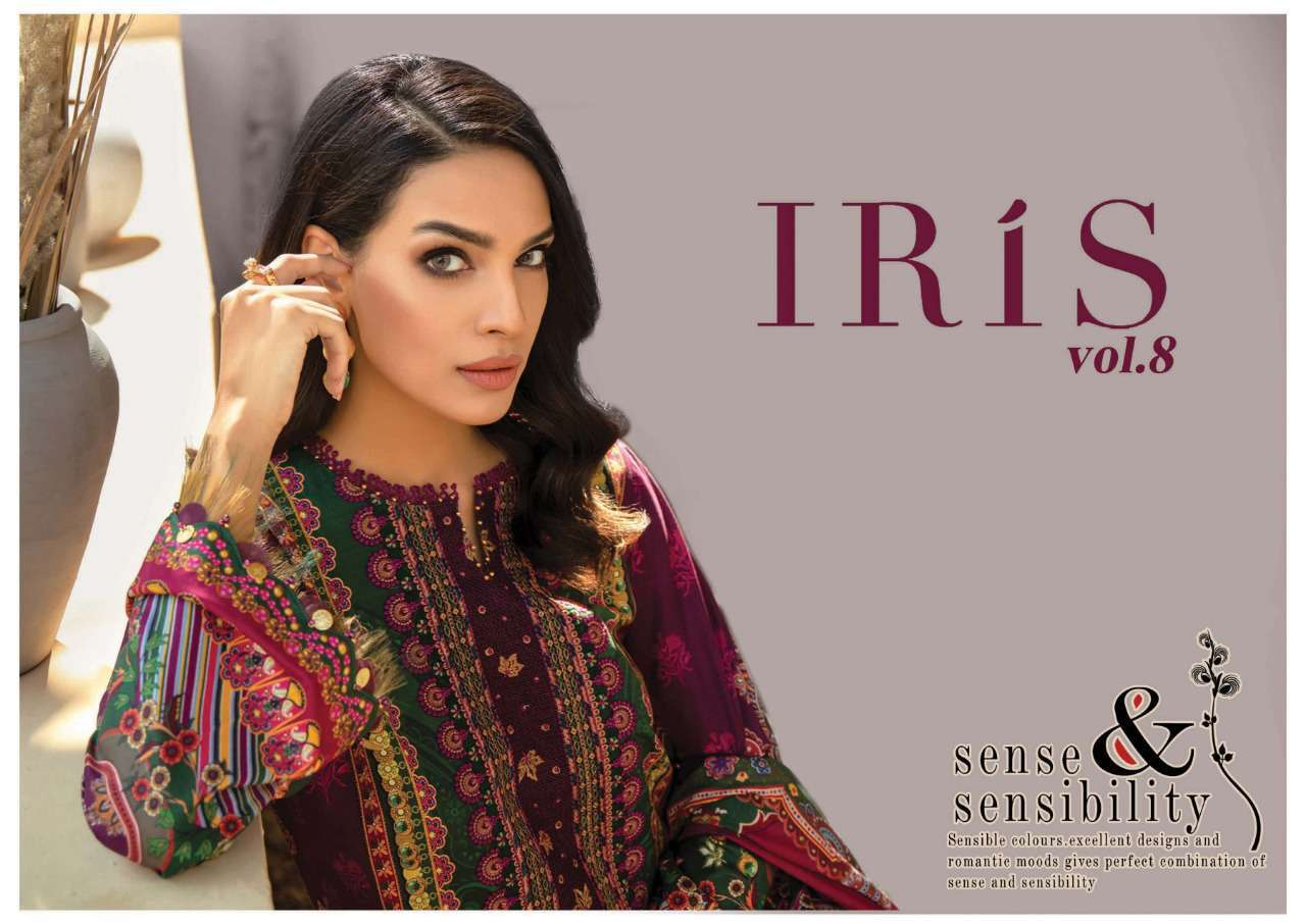 Iris Vol 8 Karachi Cotton Salwar Suit Wholesale Catalog 10 Pcs 1 - Iris Vol 8 Karachi Cotton Salwar Suit Wholesale Catalog 10 Pcs