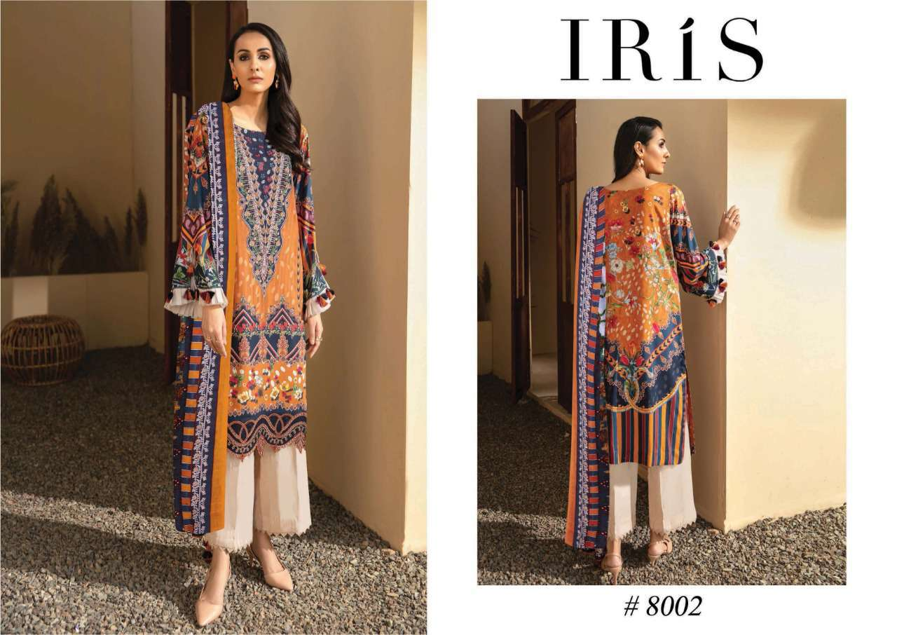 Iris Vol 8 Karachi Cotton Salwar Suit Wholesale Catalog 10 Pcs 10 - Iris Vol 8 Karachi Cotton Salwar Suit Wholesale Catalog 10 Pcs