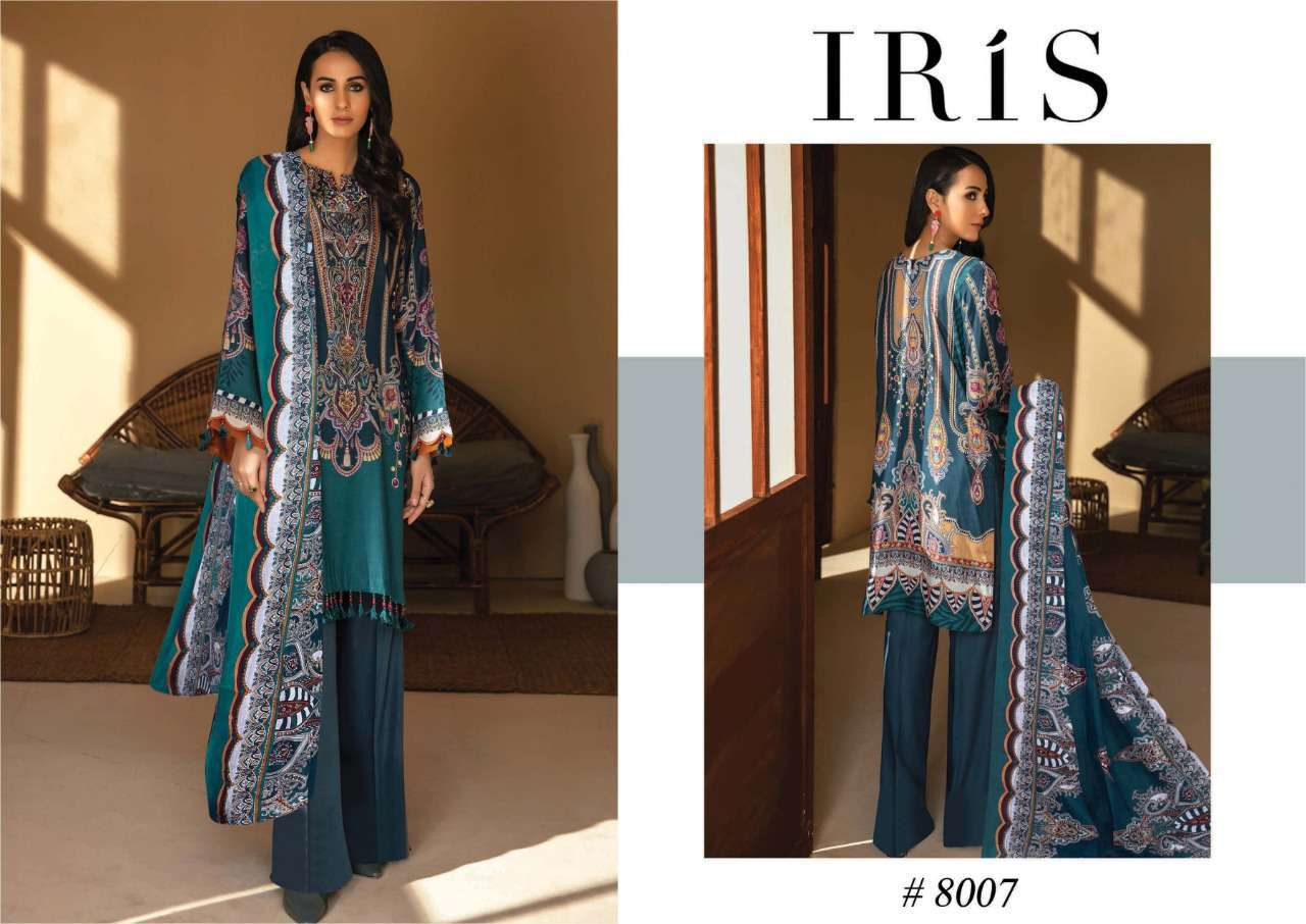 Iris Vol 8 Karachi Cotton Salwar Suit Wholesale Catalog 10 Pcs 12 - Iris Vol 8 Karachi Cotton Salwar Suit Wholesale Catalog 10 Pcs