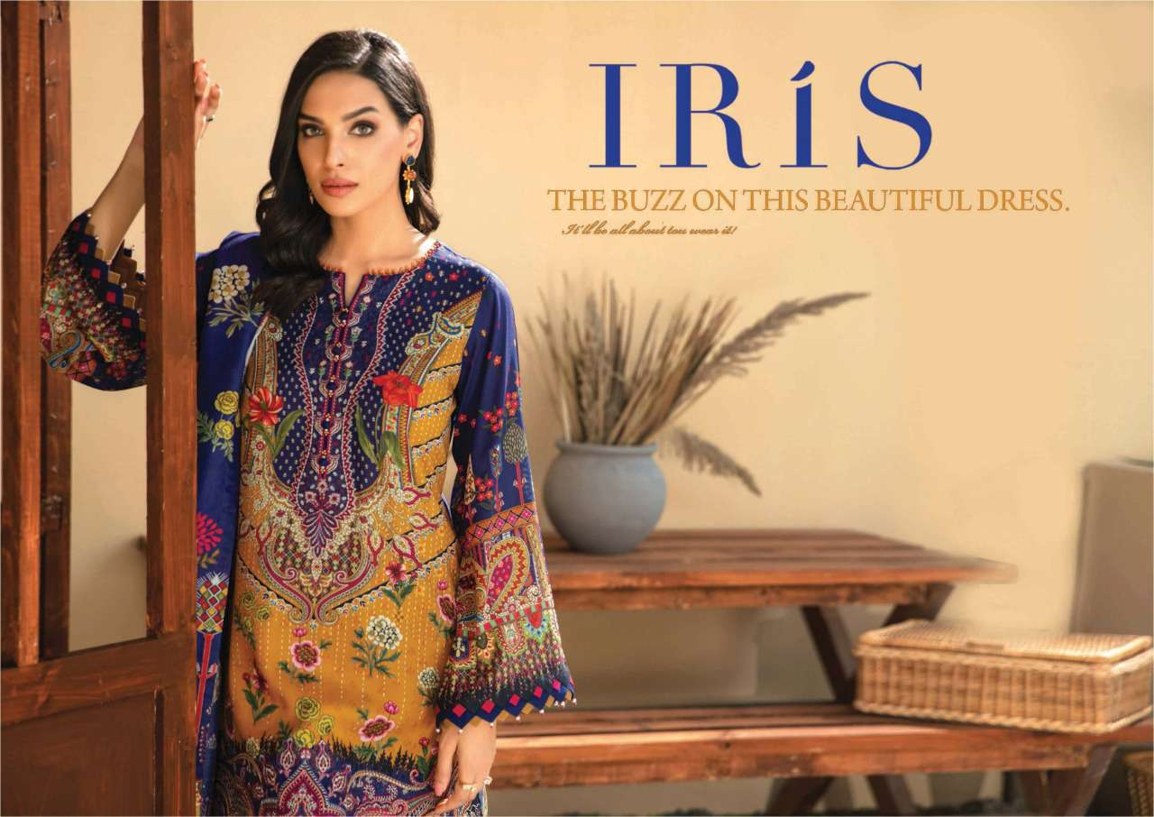 Iris Vol 8 Karachi Cotton Salwar Suit Wholesale Catalog 10 Pcs 3 - Iris Vol 8 Karachi Cotton Salwar Suit Wholesale Catalog 10 Pcs