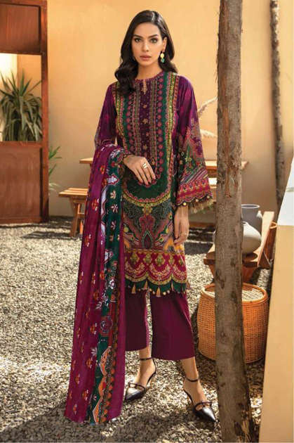 Iris Vol 8 Karachi Cotton Salwar Suit Wholesale Catalog 10 Pcs