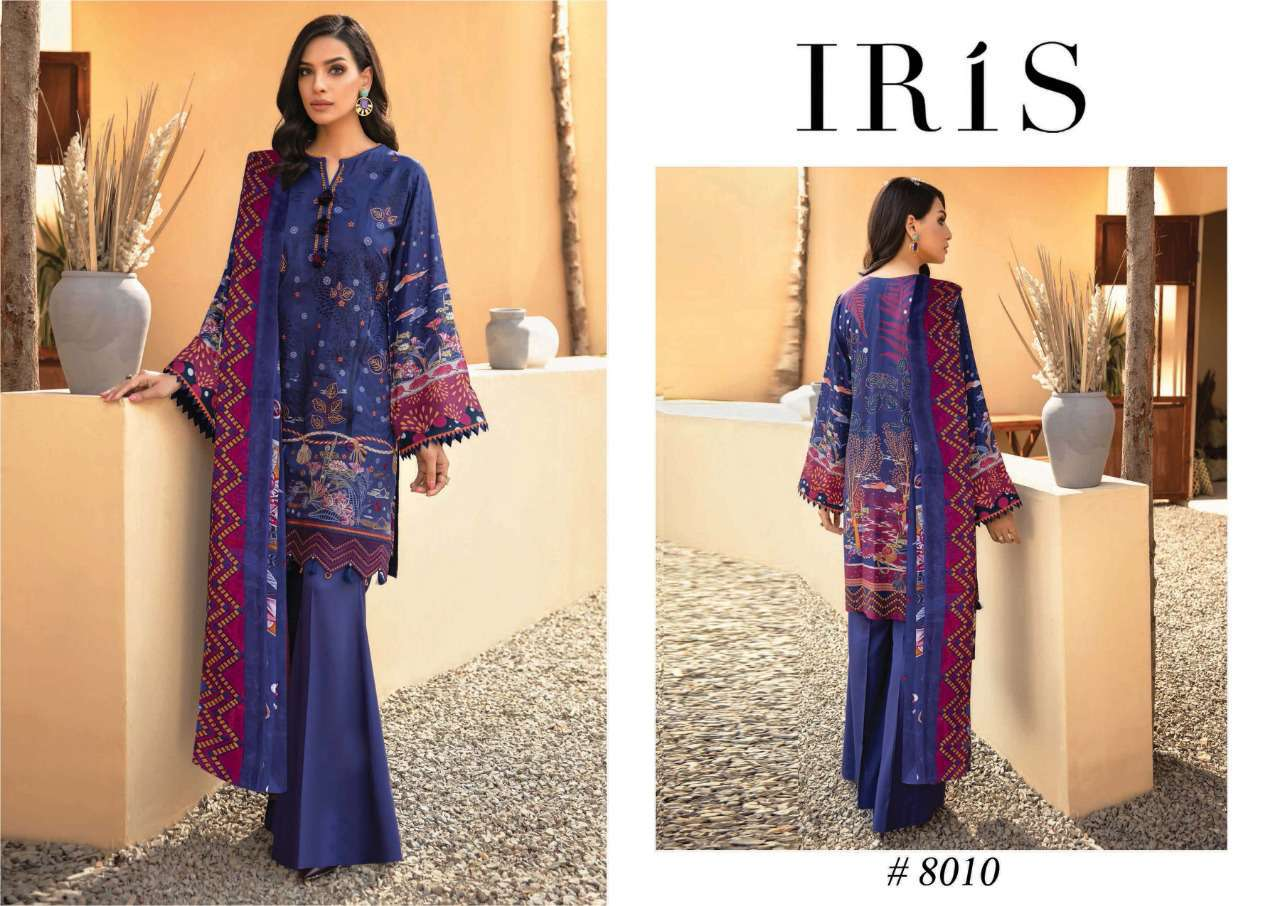 Iris Vol 8 Karachi Cotton Salwar Suit Wholesale Catalog 10 Pcs 8 - Iris Vol 8 Karachi Cotton Salwar Suit Wholesale Catalog 10 Pcs