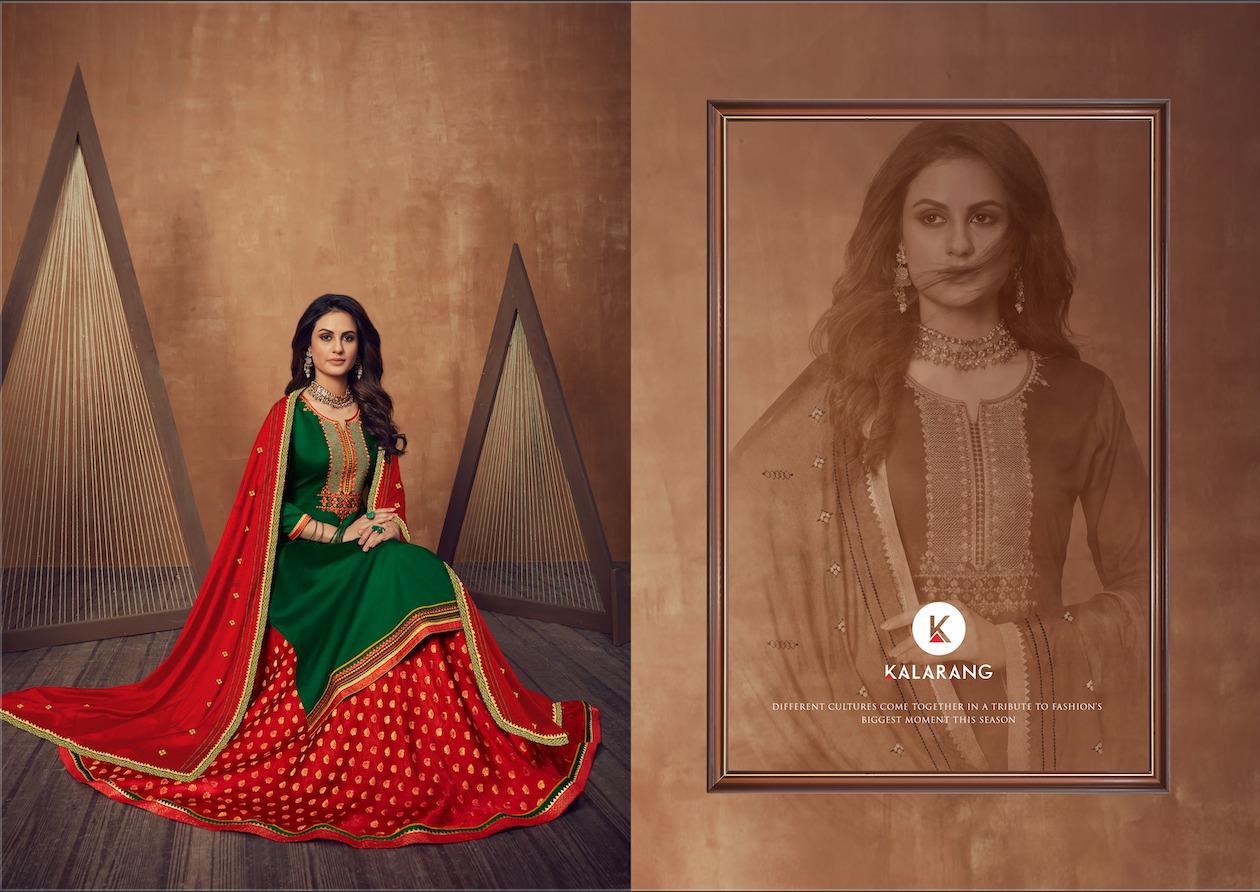 Kalarang Black Berry Vol 3 by Kessi Salwar Suit Wholesale Catalog 4 Pcs 2 - Kalarang Black Berry Vol 3 by Kessi Salwar Suit Wholesale Catalog 4 Pcs
