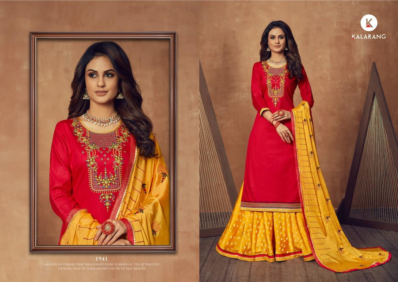 Kalarang Black Berry Vol 3 by Kessi Salwar Suit Wholesale Catalog 4 Pcs 4 - Kalarang Black Berry Vol 3 by Kessi Salwar Suit Wholesale Catalog 4 Pcs
