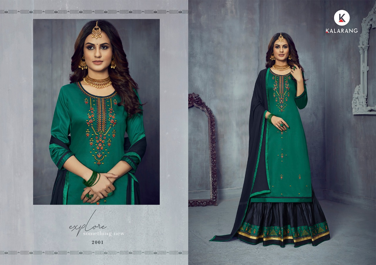 Kalarang Blossom Vol 14 by Kessi Salwar Suit Wholesale Catalog 4 Pcs 2 - Kalarang Blossom Vol 14 by Kessi Salwar Suit Wholesale Catalog 4 Pcs