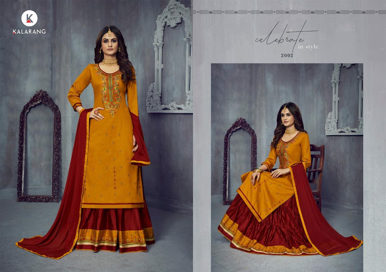 Kalarang Blossom Vol 14 by Kessi Salwar Suit Wholesale Catalog 4 Pcs 4 - Kalarang Blossom Vol 14 by Kessi Salwar Suit Wholesale Catalog 4 Pcs