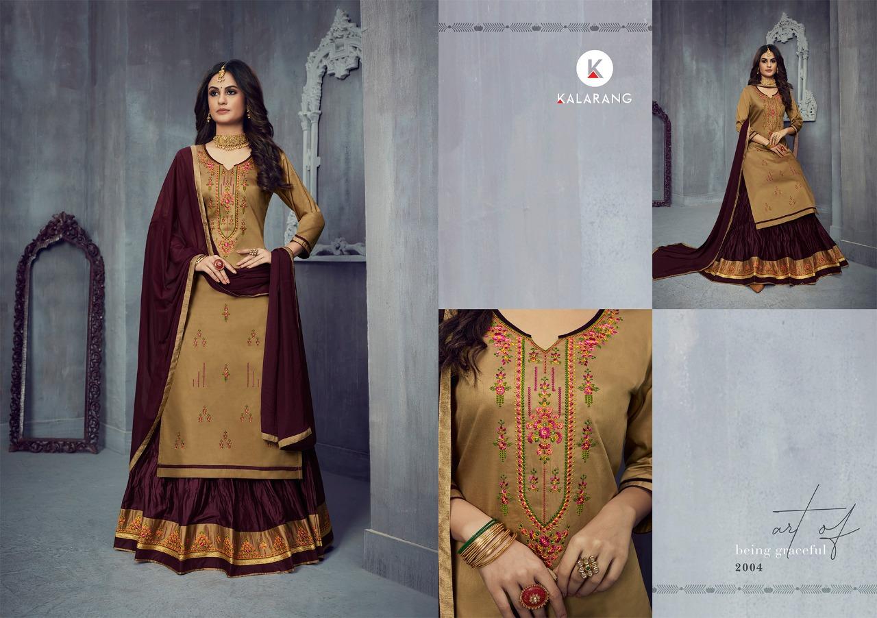 Kalarang Blossom Vol 14 by Kessi Salwar Suit Wholesale Catalog 4 Pcs 5 - Kalarang Blossom Vol 14 by Kessi Salwar Suit Wholesale Catalog 4 Pcs