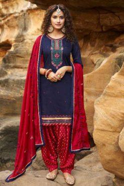 Kalarang Prakruti by Kessi Salwar Suit Wholesale Catalog 4 Pcs