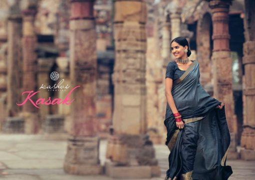 Kashvi Kasak by Lt Fabrics Saree Sari Wholesale Catalog 10 Pcs 10 510x359 - Kashvi Kasak by Lt Fabrics Saree Sari Wholesale Catalog 10 Pcs