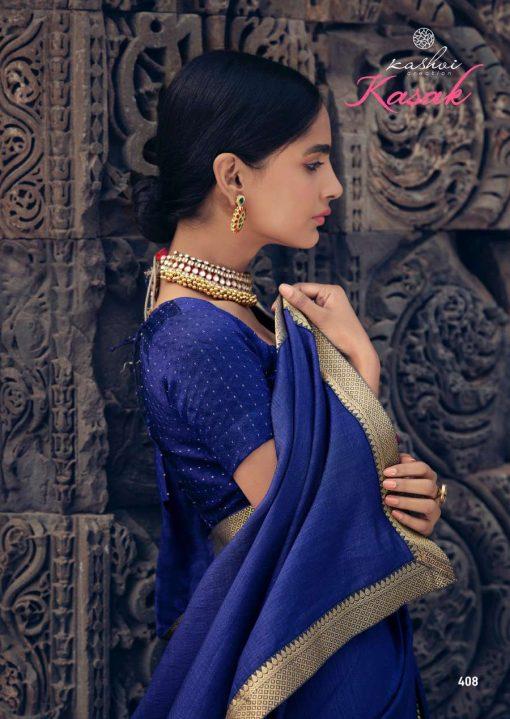 Kashvi Kasak by Lt Fabrics Saree Sari Wholesale Catalog 10 Pcs 14 510x719 - Kashvi Kasak by Lt Fabrics Saree Sari Wholesale Catalog 10 Pcs