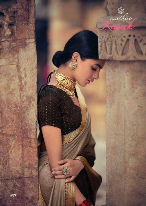Kashvi Kasak by Lt Fabrics Saree Sari Wholesale Catalog 10 Pcs 19 510x719 - Kashvi Kasak by Lt Fabrics Saree Sari Wholesale Catalog 10 Pcs
