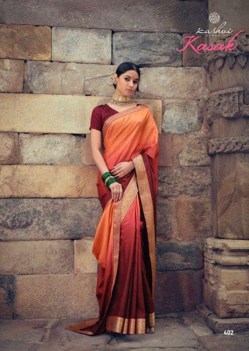 Kashvi Kasak by Lt Fabrics Saree Sari Wholesale Catalog 10 Pcs 4 510x719 - Kashvi Kasak by Lt Fabrics Saree Sari Wholesale Catalog 10 Pcs