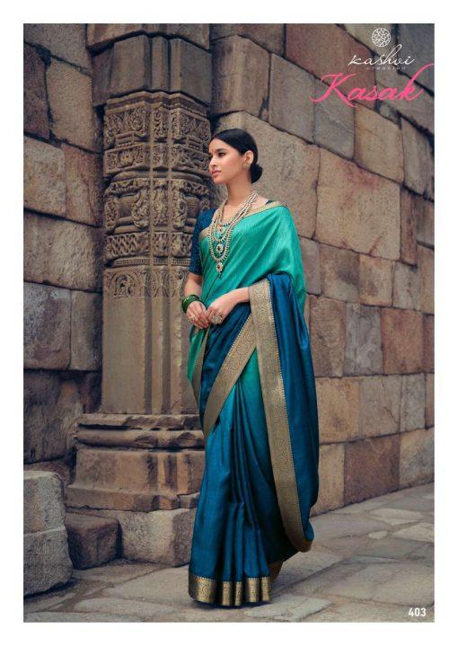 Kashvi Kasak by Lt Fabrics Saree Sari Wholesale Catalog 10 Pcs 6 510x719 - Kashvi Kasak by Lt Fabrics Saree Sari Wholesale Catalog 10 Pcs