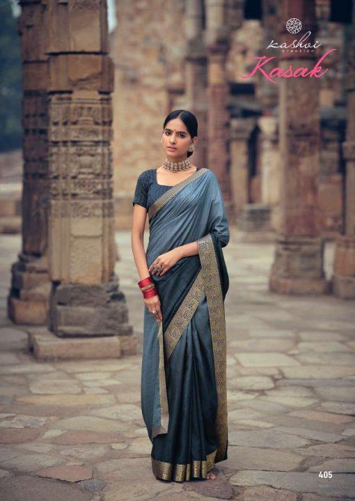 Kashvi Kasak by Lt Fabrics Saree Sari Wholesale Catalog 10 Pcs 7 510x719 - Kashvi Kasak by Lt Fabrics Saree Sari Wholesale Catalog 10 Pcs