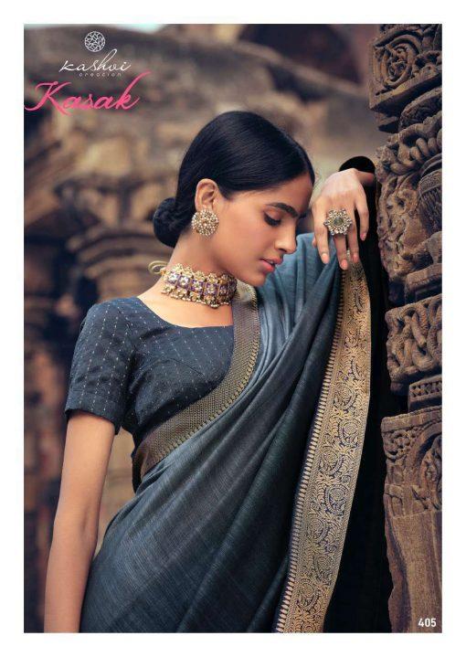Kashvi Kasak by Lt Fabrics Saree Sari Wholesale Catalog 10 Pcs 9 510x719 - Kashvi Kasak by Lt Fabrics Saree Sari Wholesale Catalog 10 Pcs