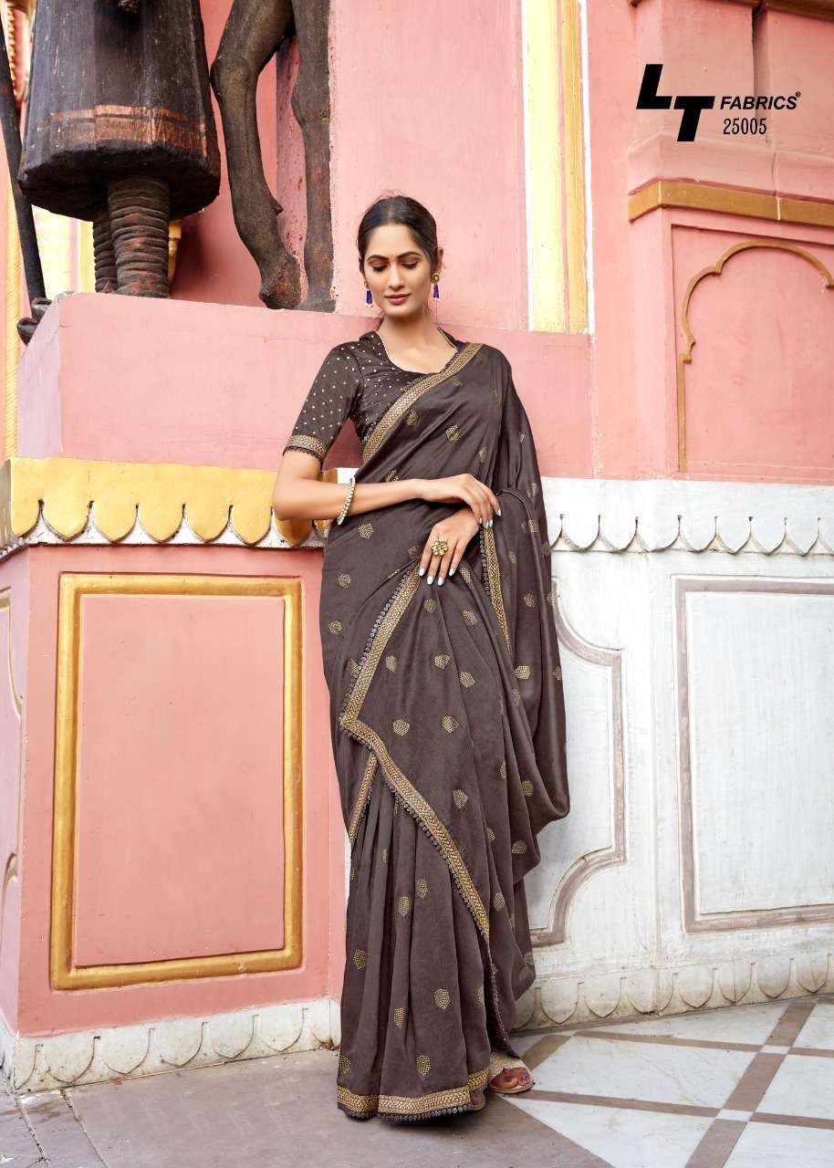 Kashvi Khwaab by Lt Fabrics Saree Sari Wholesale Catalog 10 Pcs 13 - Kashvi Khwaab by Lt Fabrics Saree Sari Wholesale Catalog 10 Pcs