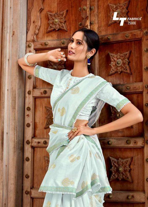 Kashvi Khwaab by Lt Fabrics Saree Sari Wholesale Catalog 10 Pcs 15 510x714 - Kashvi Khwaab by Lt Fabrics Saree Sari Wholesale Catalog 10 Pcs
