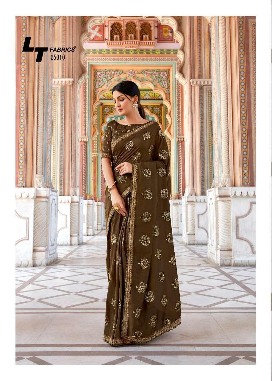 Kashvi Khwaab by Lt Fabrics Saree Sari Wholesale Catalog 10 Pcs 24 - Kashvi Khwaab by Lt Fabrics Saree Sari Wholesale Catalog 10 Pcs