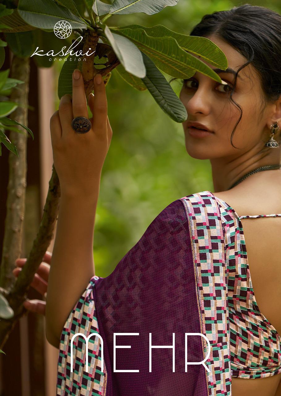 Kashvi Mehar by Lt Fabrics Saree Sari Wholesale Catalog 10 Pcs 20 - Kashvi Mehr by Lt Fabrics Saree Sari Wholesale Catalog 10 Pcs